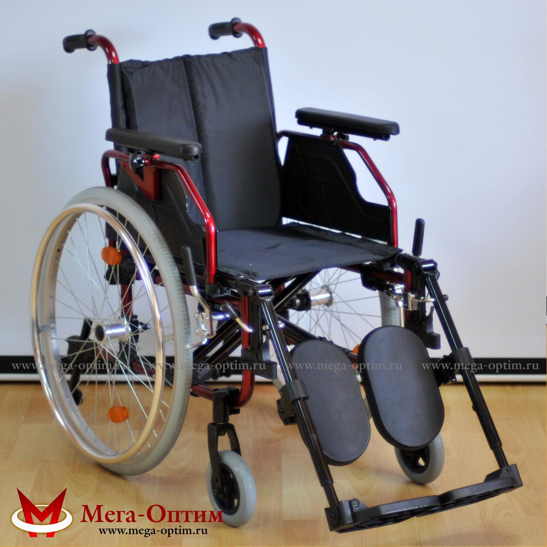 Универсальная облегченная инвалидная коляска