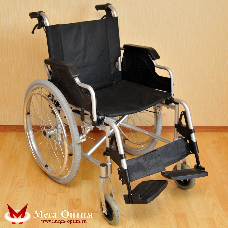 алюминиевая инвалидная коляска LK 6109-46 / FS 908 LJ-46