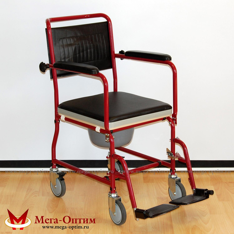 Инвалидное кресло-коляска с санитарным устройством