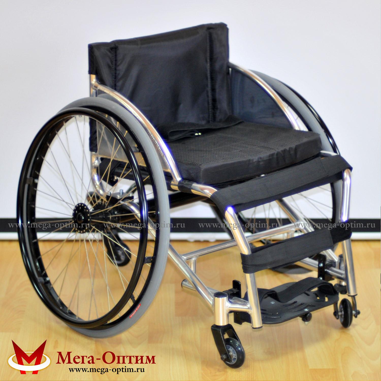 Кресло-коляска для танцев инвалидная FS 755 L МЕГА-ОПТИМ