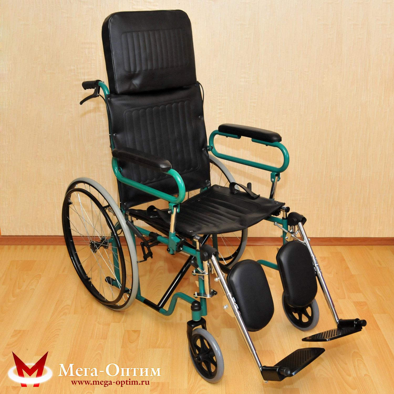 Инвалидная коляска с высокой спинкой